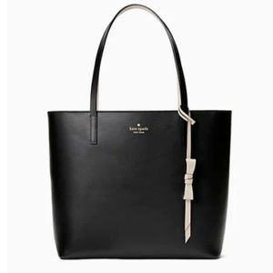 New Kate Spade Black Lawton Tote Bag